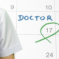 doctor's calender